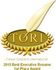 Best Resume Writer Calgary - 1st Place Award - International Competition